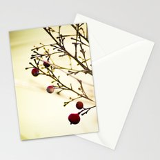 life in the winter Stationery Cards