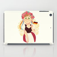 germany iPad Cases featuring Germany by Melissa Ballesteros Parada