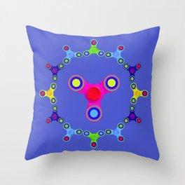 Fidget Spinner Design version 1 Throw Pillow