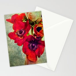 Anemoni Rossi Stationery Cards