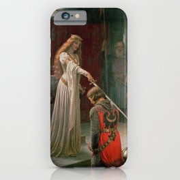 Accolade by Edmund Blair Leighton iPhone Case