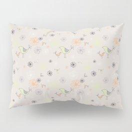 Birdies Gone Wild by Deirdre J Designs Pillow Sham