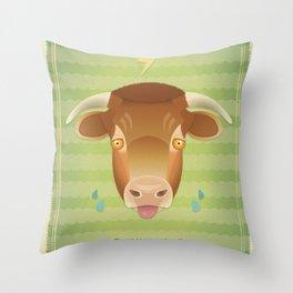 Tribullation! Throw Pillow