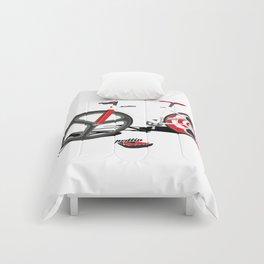 Paris Fixie Comforters