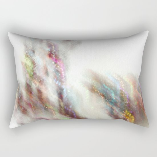 Glittering Tree - JUSTART Rectangular Pillow
