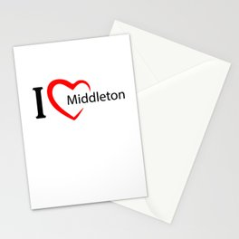 Middleton. I love my favorite city. Stationery Cards