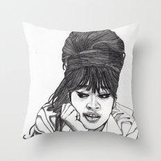 Ronnie Spector 2 Throw Pillow
