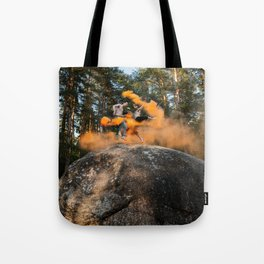 Rocket Launcher Tote Bag