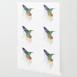Hummingbird Watercolor Wallpaper