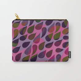 Raindrops - Fushia Carry-All Pouch