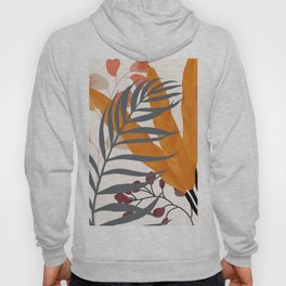 Colorful Red Leaves Hoody
