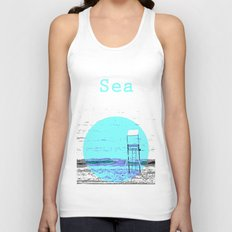 Sea Unisex Tank Top