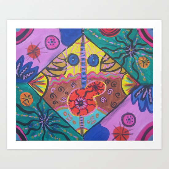 Abstract5  Art Print