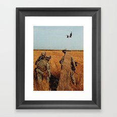 It's a Transient Light, as All Exploding Things Are Framed Art Print