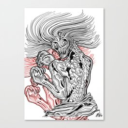 The Shaman Legend Canvas Print