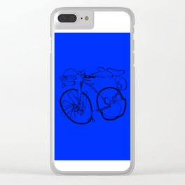 10-Speed -- Blue Clear iPhone Case
