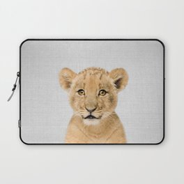 Baby Lion - Colorful Laptop Sleeve