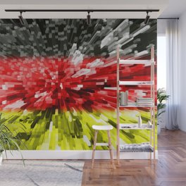 Extruded Flag of Germany Wall Mural