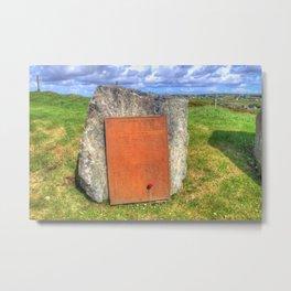 Lewis War Memorial, Stornoway Metal Print