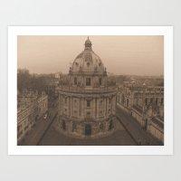 Radcliffe Camera Art Print