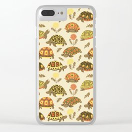 Tubby Torts Clear iPhone Case