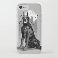 doberman iPhone & iPod Cases featuring DOBERMAN by ADAMLAWLESS