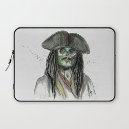 Captain Jack Zombie Laptop Sleeve