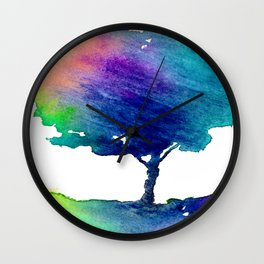 Hue Tree Wall Clock