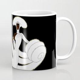 "Art Deco Design ""Ebony and White"" Coffee Mug"