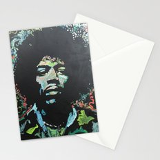 Rock and Roll Blues Stationery Cards