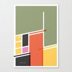 SECRET CYCLING FLAG - VOIGT Canvas Print