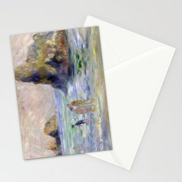 Moulin Huet Bay, Guernsey by Pierre-Auguste Renoir Stationery Cards