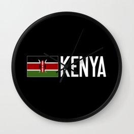 Kenya: Kenyan Flag & Kenya Wall Clock