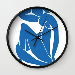Matisse Cut Out Figure #2 Wall Clock