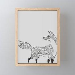 Fox Trot Framed Mini Art Print