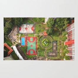 Singapore aerial drone Rug