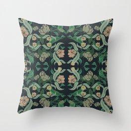 ECHEVARIA FLORAL II Throw Pillow