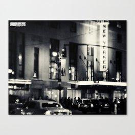 Hotel New Yorker Canvas Print