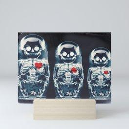 Nesting Doll X-Ray Mini Art Print