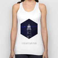 lighthouse Tank Tops featuring Lighthouse by Mehdi Elkorchi