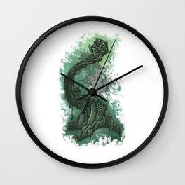 Gnarly twisted tree w Wall Clock