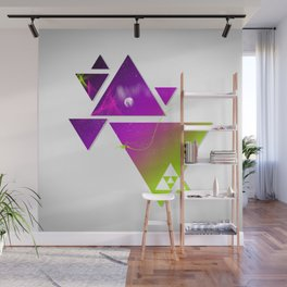 Triangulation Wall Mural