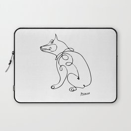 Pablo Picasso Dog Artowork, Animals Line Sketch, Tshirts, Prints, Posters, Bags, Men, Women, Kids Laptop Sleeve