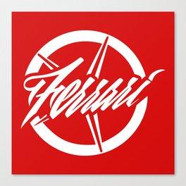 Ferrari's star Canvas Print