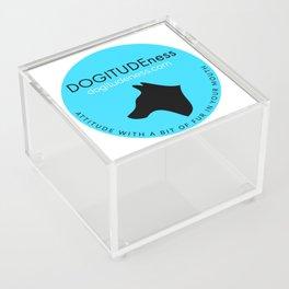 DOGITUDEness Logo Acrylic Box