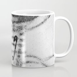 X Ray of a Pin Stuck in the Throat Coffee Mug