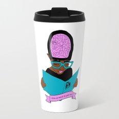 A zine as weird as you are. Travel Mug