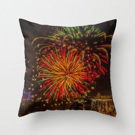 Firework collection 3 Throw Pillow