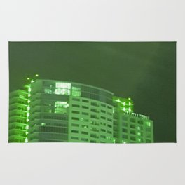 Green latern Rug