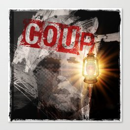 Trump: COUP Canvas Print